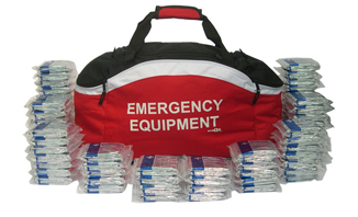 200 Emergency Foil Blankets in Holdall | Business Emergency Kits and Grab Bags - Preparedness beyond Health and Safety | EVAQ8 Ltd Emergency Preparedness - Battlebox-info.co.uk