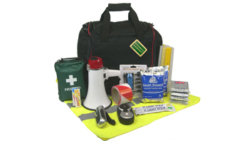 Standard Emergency Grab Bag for Business | Business Emergency Kits and Grab Bags - Preparedness beyond Health and Safety | EVAQ8 Ltd Emergency Preparedness - Battlebox-info.co.uk